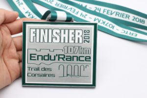 médaille finisher ultra trail peronnalisable